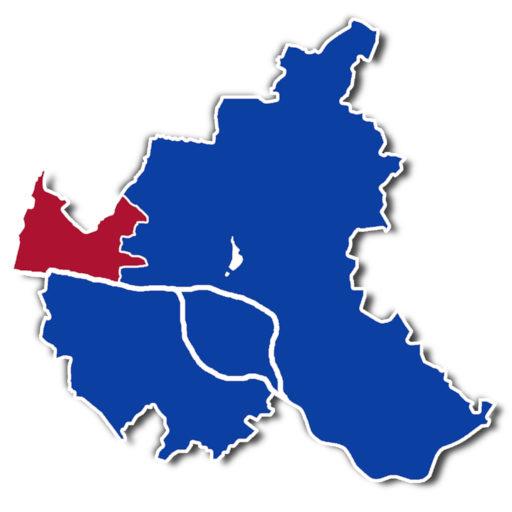 Wahlkreis Vier in der Hamburgischen Bürgerschaft